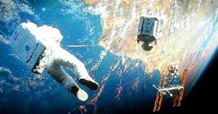 Забавный спин-офф фильма-прорыва 2013 года «Гравитация»